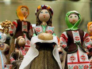 Народные белорусские куклы