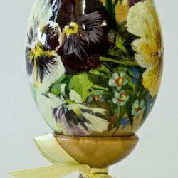 "Яйцо ""Цветы"""