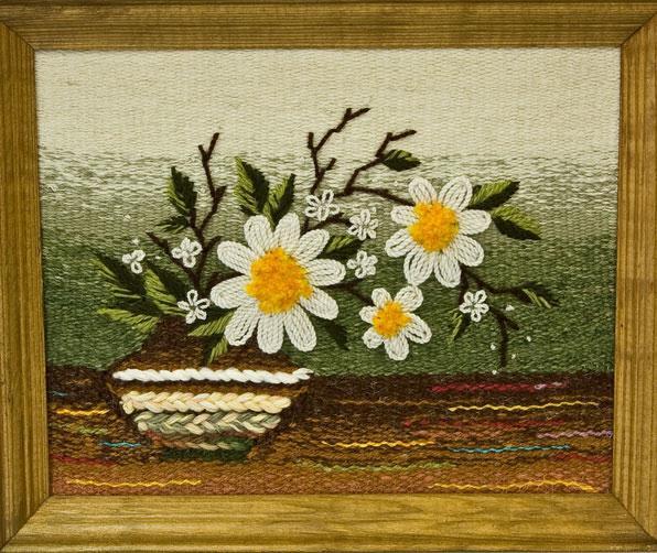 """Гобелен """"Мой цветок"""""""