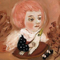Картина Ангел с белой птицей