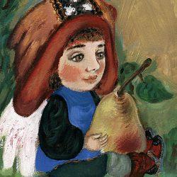 Картина Ангел с грушей