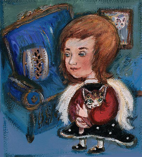 Картина Синяя комната