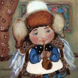 Картина Ангел-музыкант
