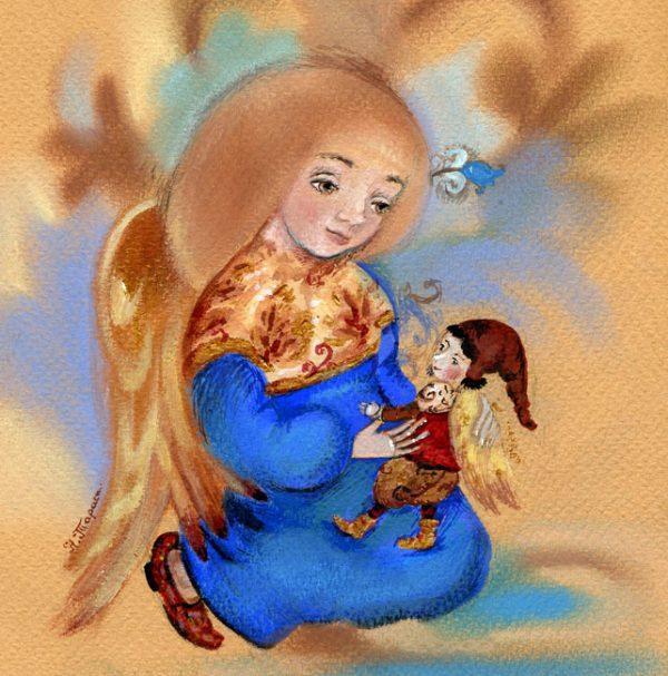 Картина Кукла для ангела