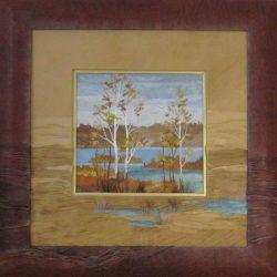 Картина «Озерный край.»