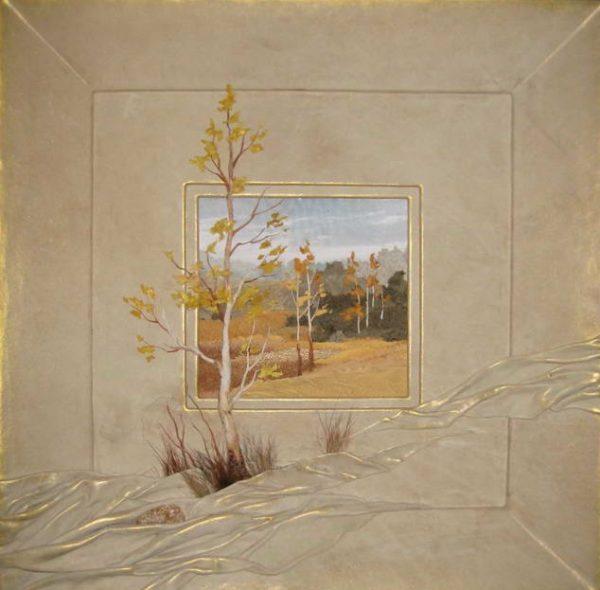 Картина «Окно в осень...»