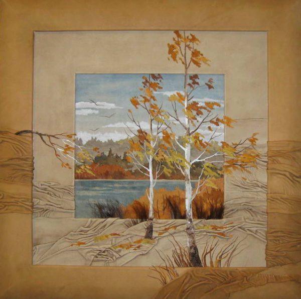Картина «Осенний ветер.»