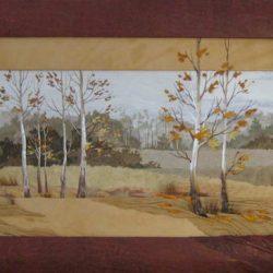 Картина «У зимы на пороге.»