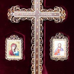 Набор с крестом. Сожская скань