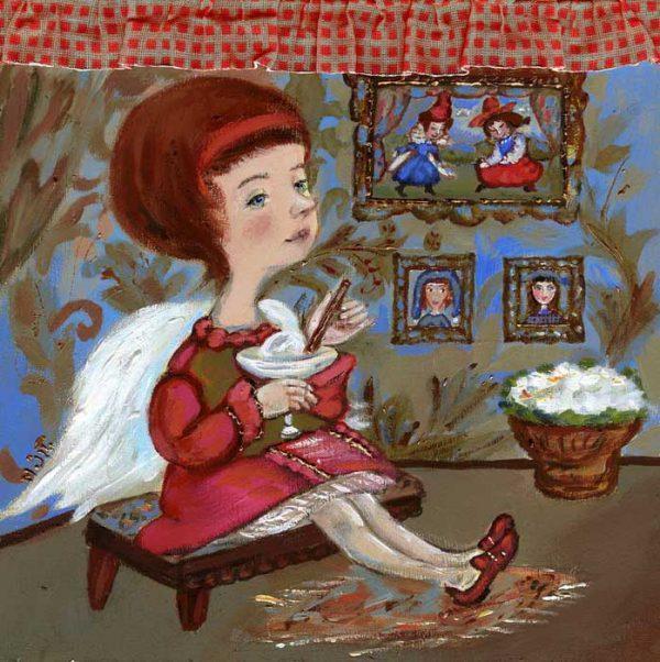 Картина Мороженое для ангела
