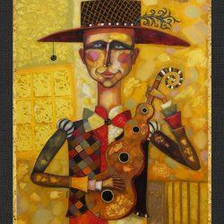 """Картина """"Музыкант"""", 2006 г."""