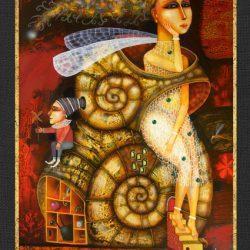 """Картина """"Улитка"""", 2007 г."""