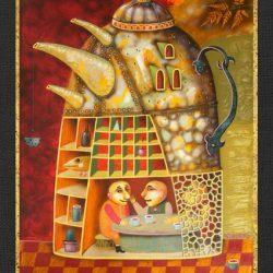 "Картина ""Чайник-Дом"", 2007 г."