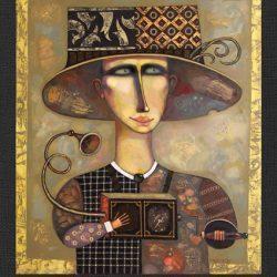 "Картина ""Шарманщик"", 2006 г."