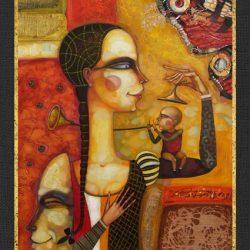 """Картина """"Игра На Дудке"""", 2006 г."""