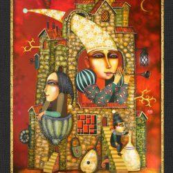 "Картина ""Мелодия Волшебного Дома"", 2007 г."