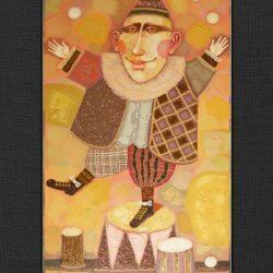 "Картина ""Жонглёр"", 2008 г."