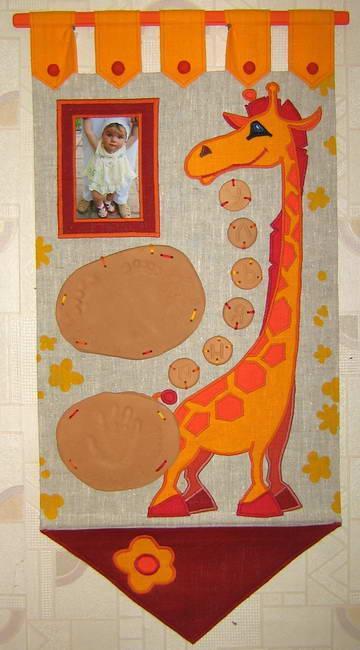 Панно  Жираф