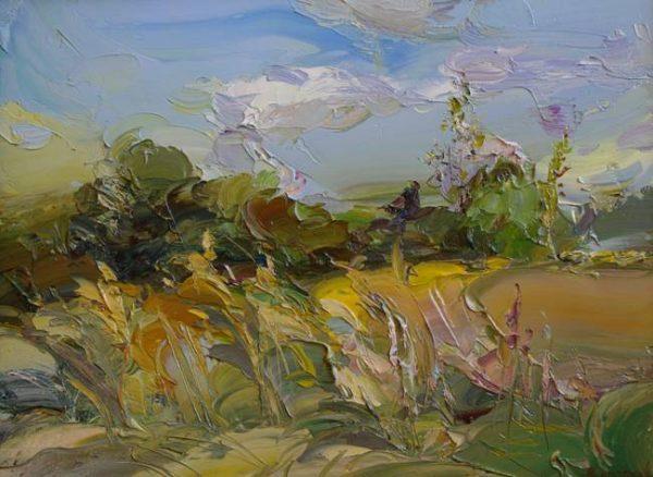 Картина «Пейзаж Травы»