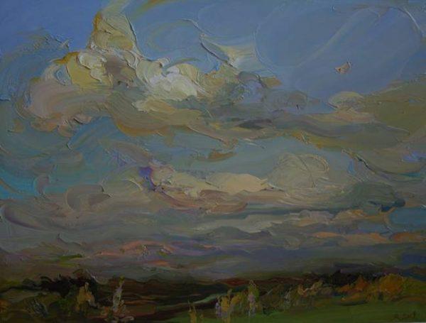 Картина «Облака»