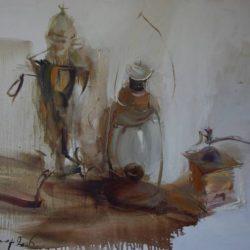 Картина «Натюрморт с лампой»