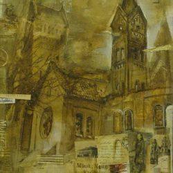 Картина «Костел Симона и Елены»