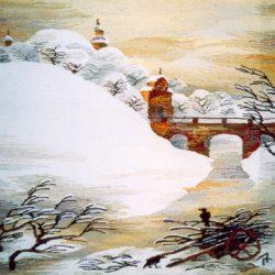 """Гобелен  """" Замок Родзевилов  в Несвиже"""""""