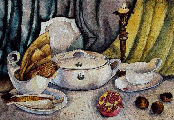 """Картина """"Посуда Радзивилла"""""""