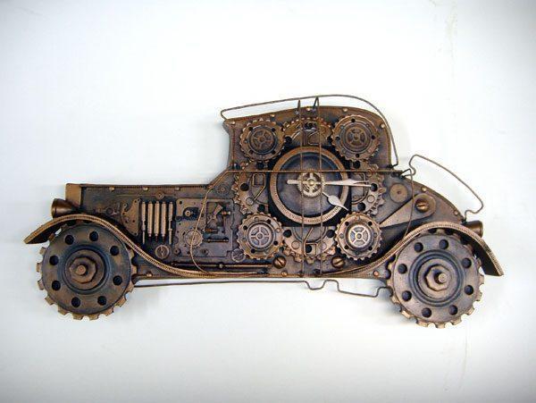 Настенные часы Ретро автомобиль