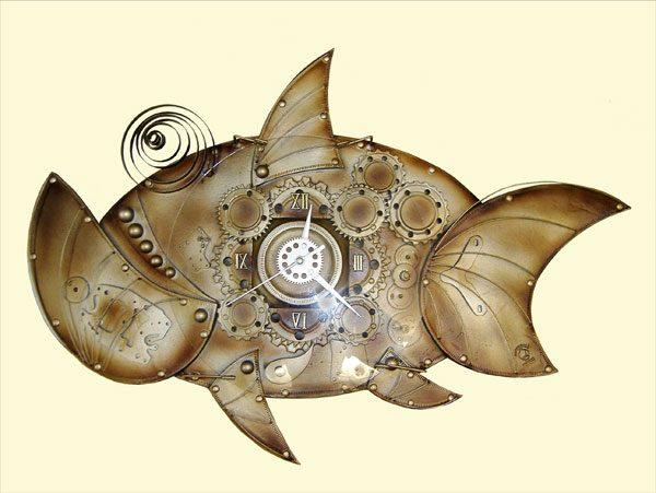 """Настенные часы """"Рыба"""""""