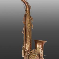 Настенные часы Саксофон