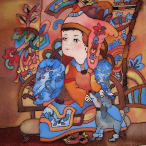 Картина Ангел с пуделем