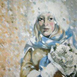 Картина Зимний день рождения