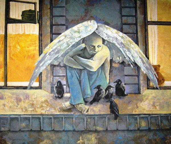 Картина Ангел в сумерках