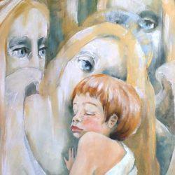 Картина Три агела хранителя