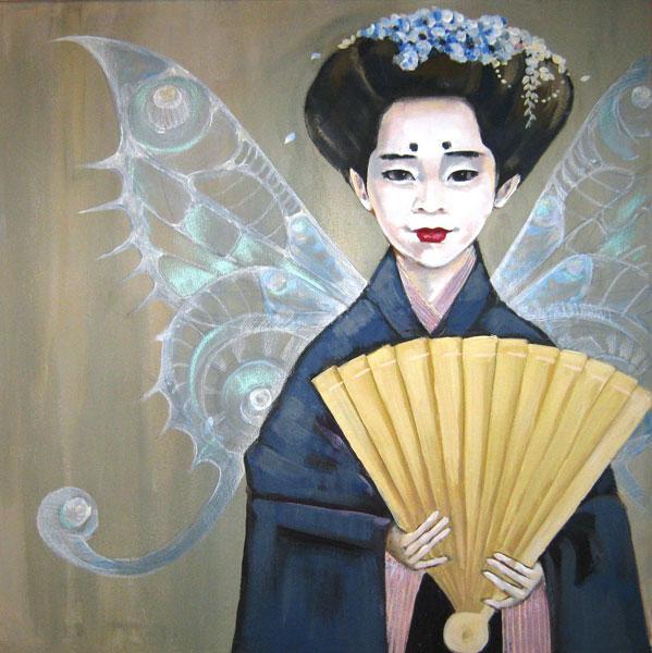 "Картина ""Японская фея"""