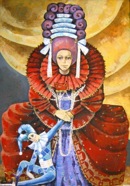 Картина Инфанта в красном