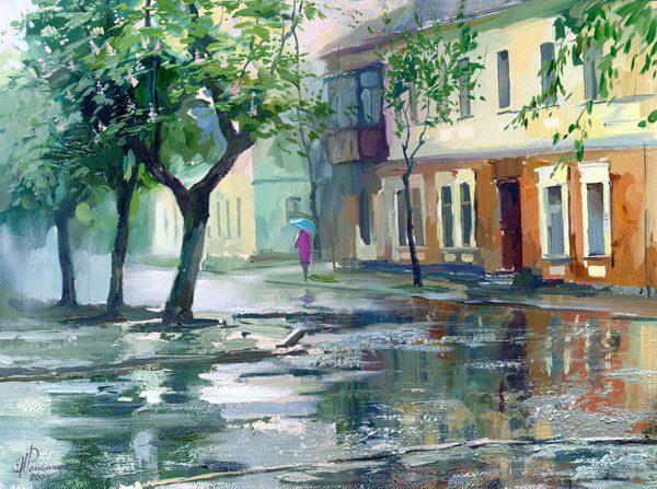 Картина «Летний дождик»