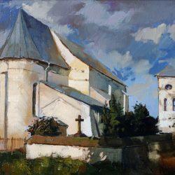 Картина «Костел в д. Чернавчицы»