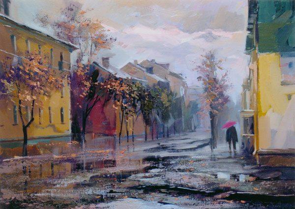 Картина «Мелодия дождя»