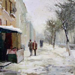 Картина «Снегопад»