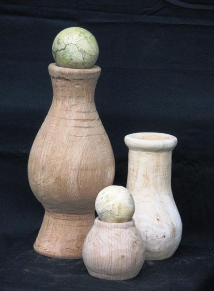 Деревянная ваза (Артнаив)