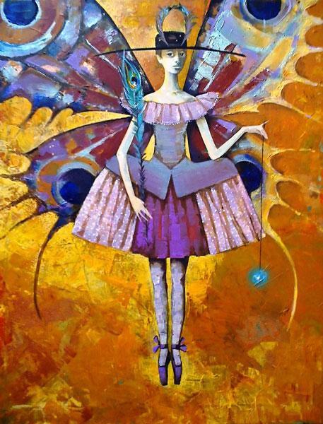 Картина Бабочка в янтаре