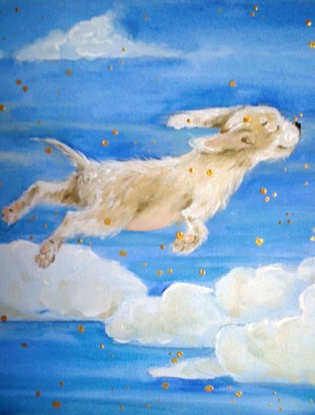 Картина Щенячий сон