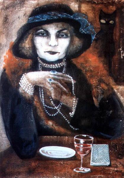 Картина Гадалка