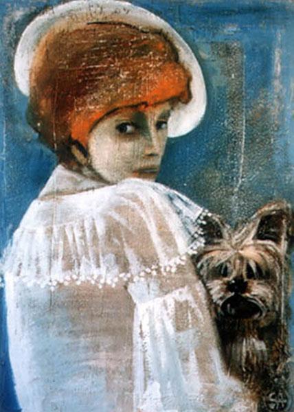 Картина Дама с собачкой
