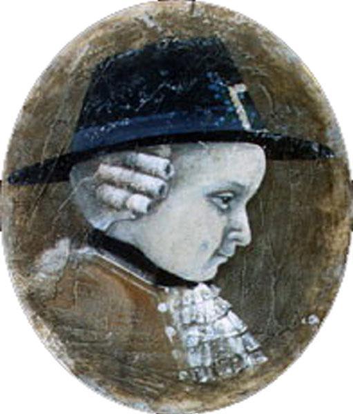 Картина Мальчик с незабудками