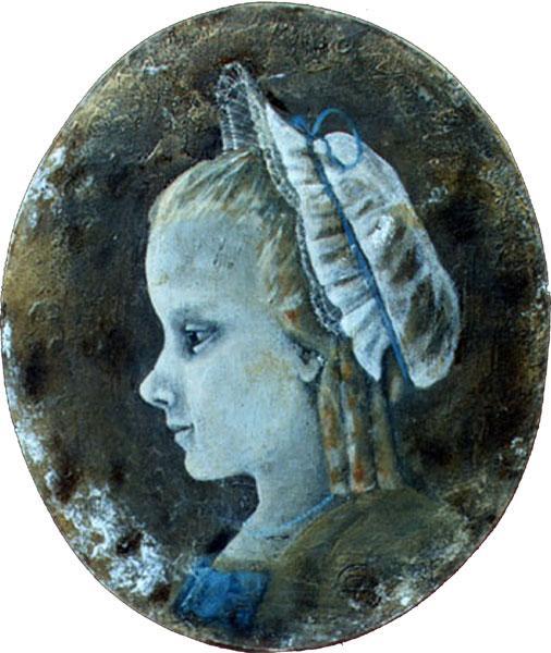 Картина Девочка в чепце