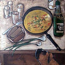 Картина Типовой ужин на четверых