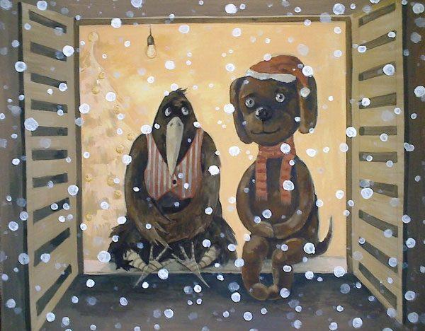 "Картина ""Рождество"""